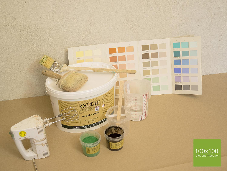 imagen de entrada del blog: Cómo usar pigmentos para colorear pinturas y argamasas