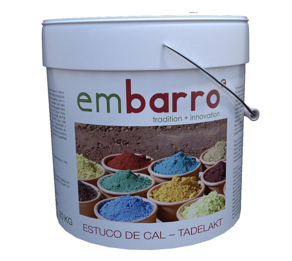 imagen producto: Estuco de cal-Tadelakt Embarro - EMBARRO - 20 kg