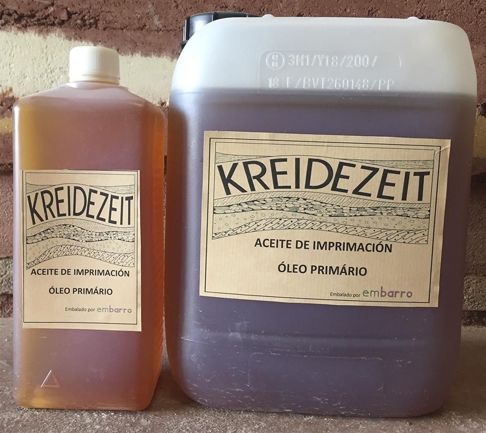 imagen producto: Aceite imprimación - KREIDEZEIT - 1 litro (Embalado por Embarro)