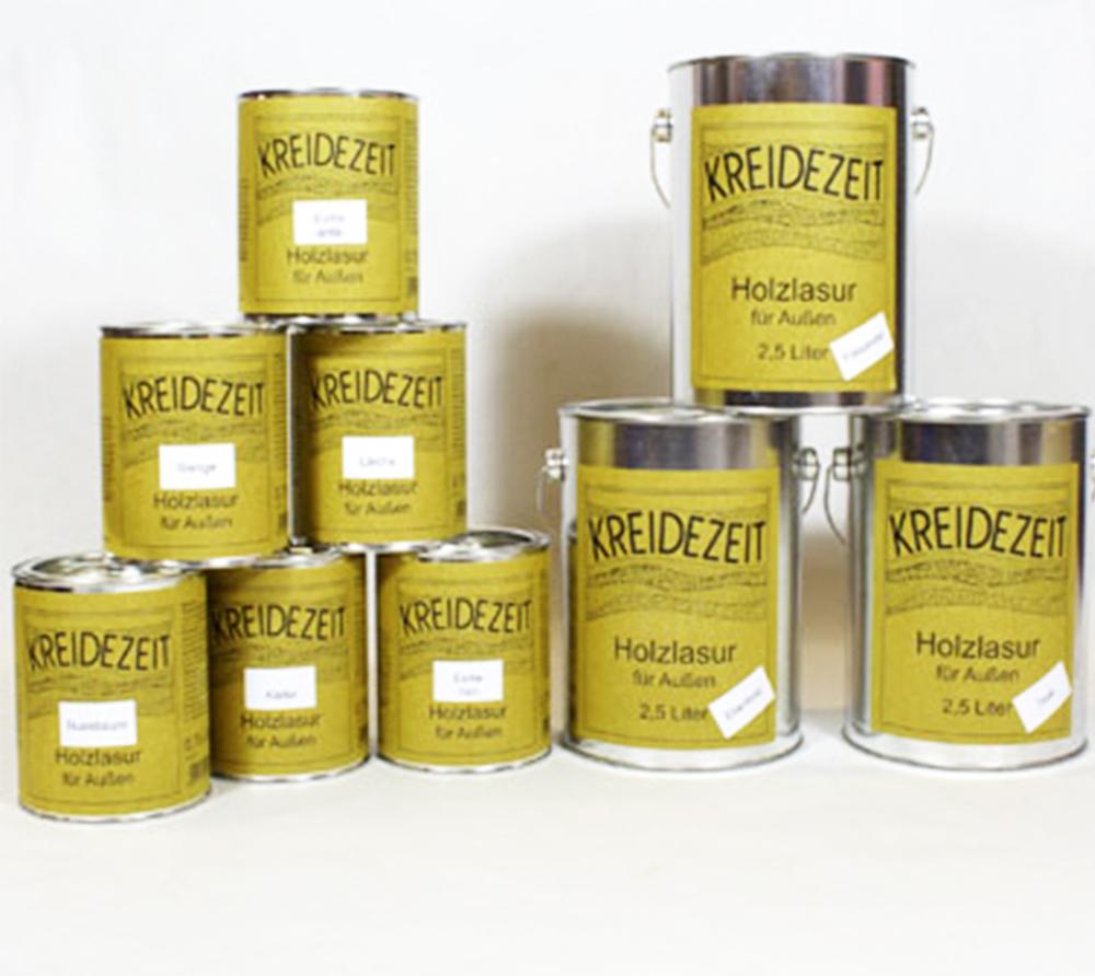 imagen producto: Aceite para madera coloreado - Pino - KREIDEZEIT - 2,5 litros