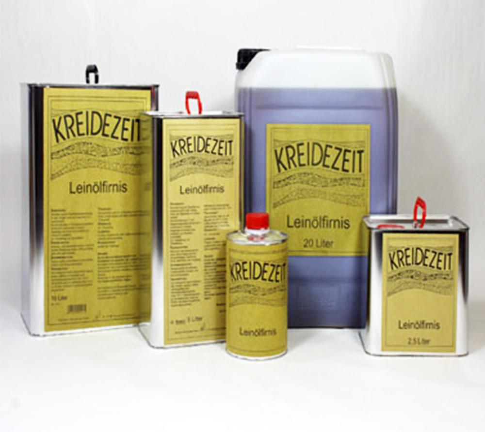 imagen producto: Aceite de Linaza cocido - KREIDEZEIT - 5 litros