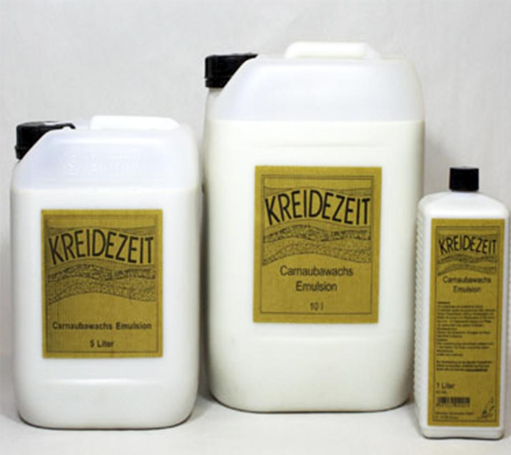 imagen producto: Emulsión de Cera Carnauba Concentrada - KREIDEZEIT - 5 litros