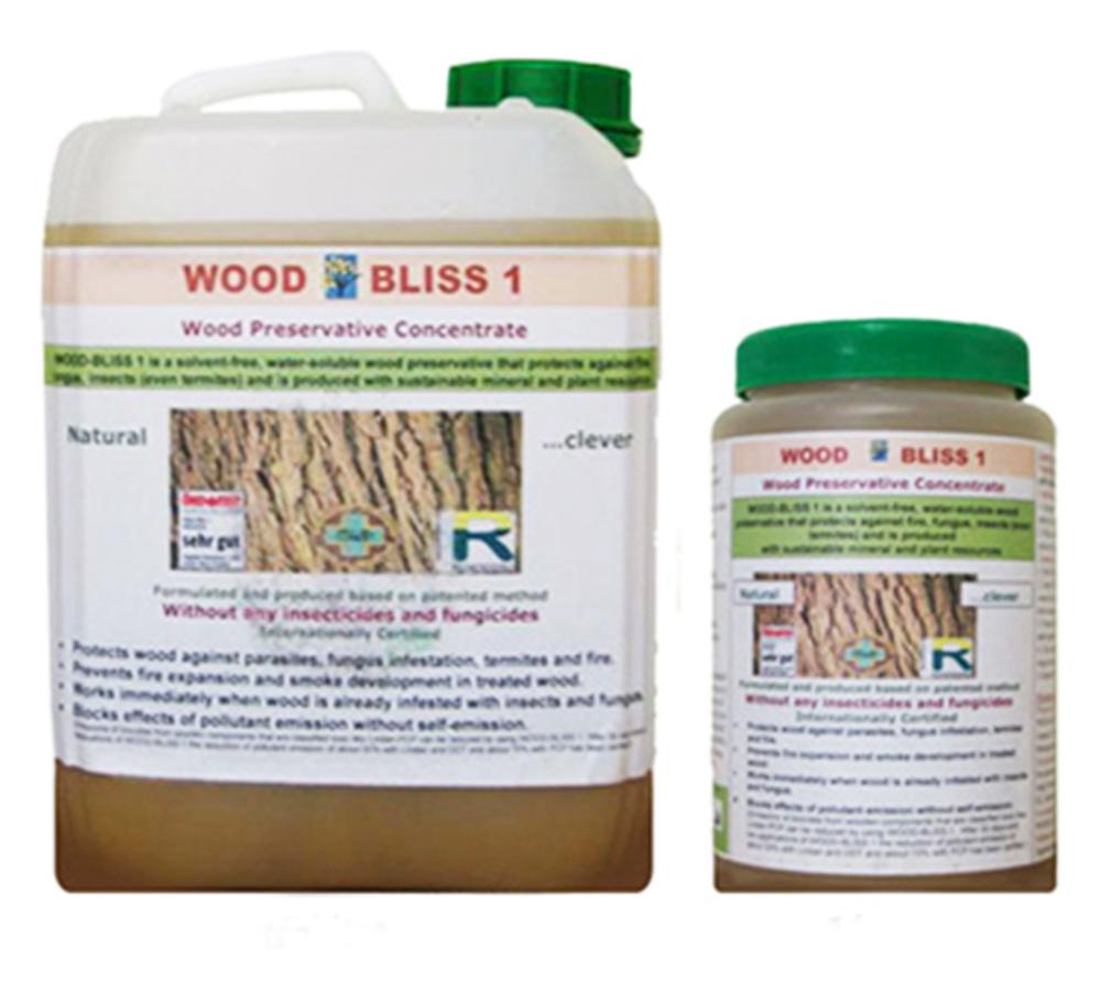 imagen producto: Wood Bliss, anti-termita, concentrado - MASID - 1 litro
