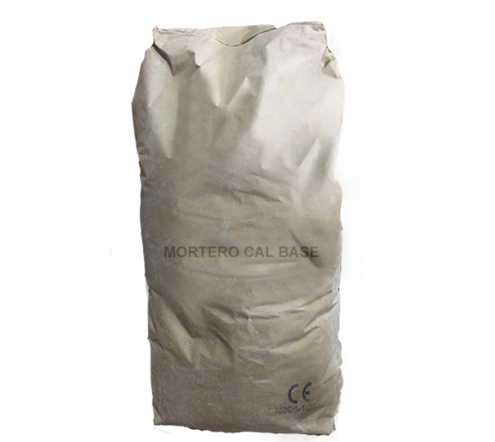 imagen producto: Mortero de cal base - Blanco Natural - - - 25 Kg