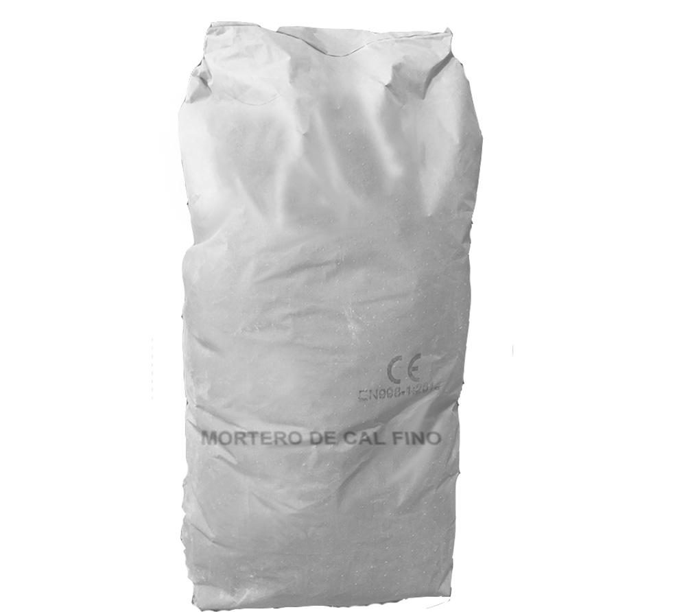 imagen producto: Mortero de cal fino - Blanco Nieve - - - 25 Kg