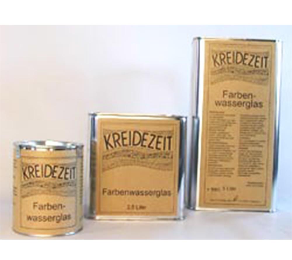 imagen producto: Fijador e imprimación Silicato líquido - KREIDEZEIT - 2,5 litros
