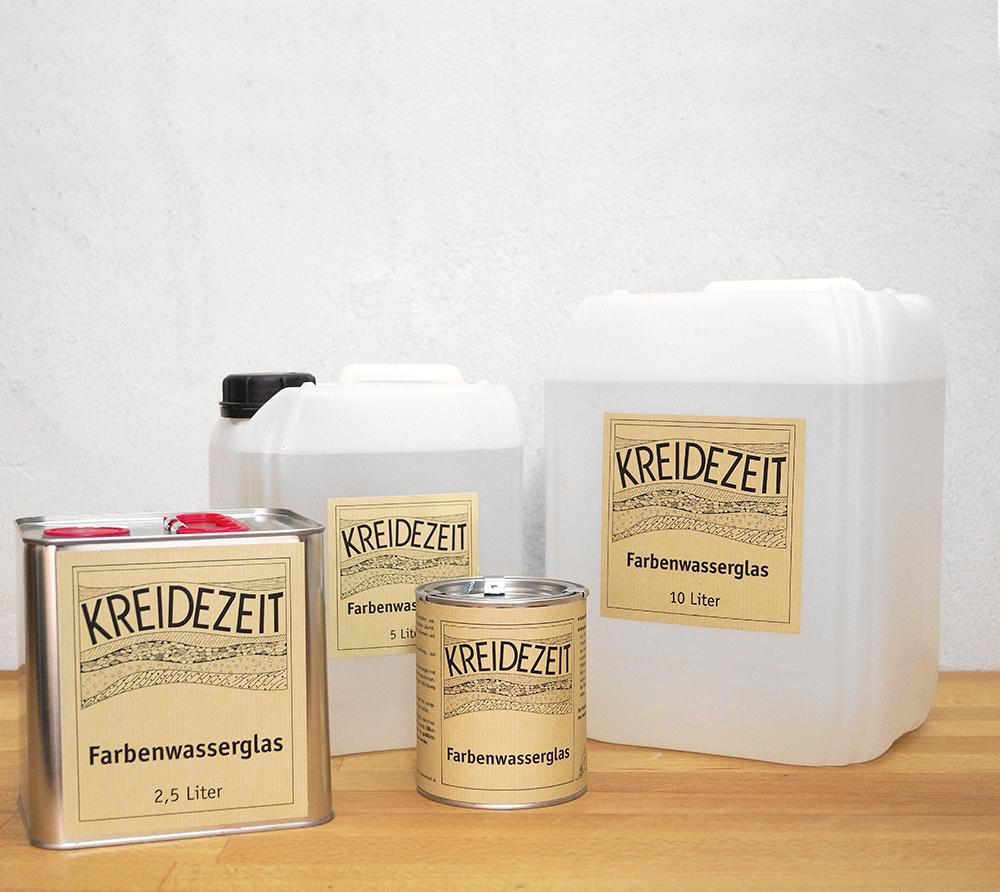 imagen producto: Silicato Líquido Concentrado - Blanco - KREIDEZEIT - 10 litros