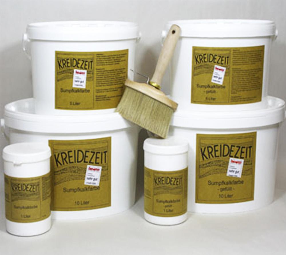 imagen producto: Pintura de Cal - Blanco - KREIDEZEIT - 1 litro